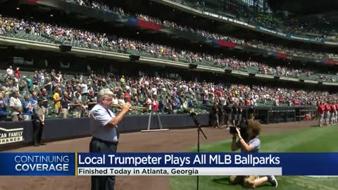 Milwaukee native has performed the National Anthem at every MLB...