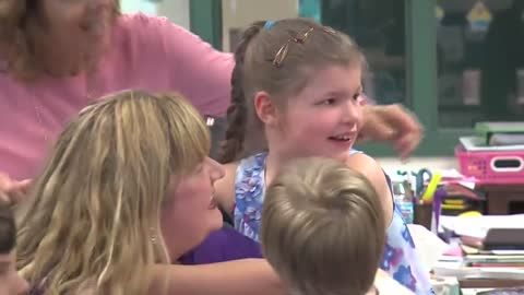 Second grader with epilepsy has dream come true thanks to Make-A-Wish