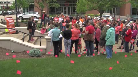 Moms Demand Action held rally in Racine to spread awareness about gun violence