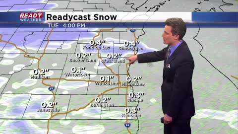 Several chances for snow this week