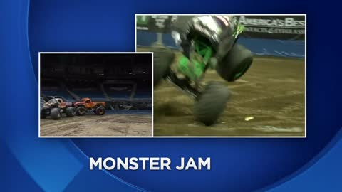 "Getting all revved up for ""Monster Jam"" at Fiserv Forum this..."