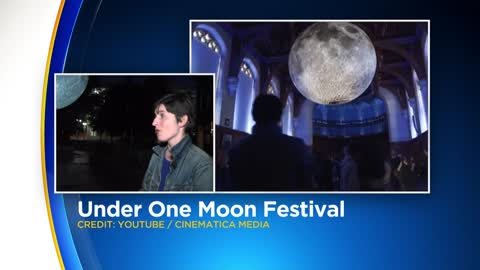 23-foot replica of the moon to be suspended in Third Ward's Catalano Square this weekend