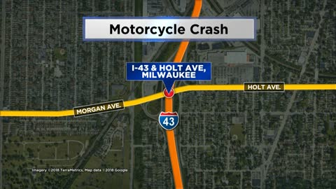 Man seriously hurt in motorcycle crash, MPD investigating