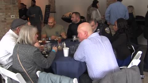 Hundreds turnout for fallen officer fundraiser by SURG Restaurant Group