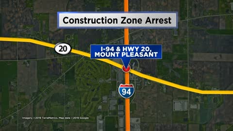 Woman arrested for OWI, driving through construction zone in Racine County