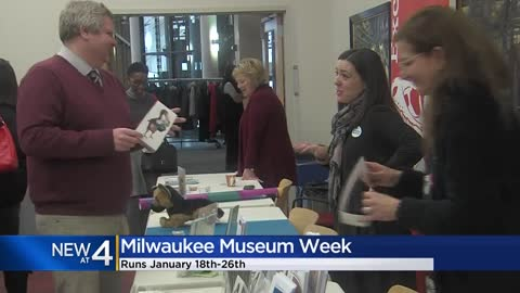Milwaukee Museum Week kicks off Saturday, Jan. 18