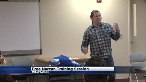 Free NARCAN demonstrations given to citizens