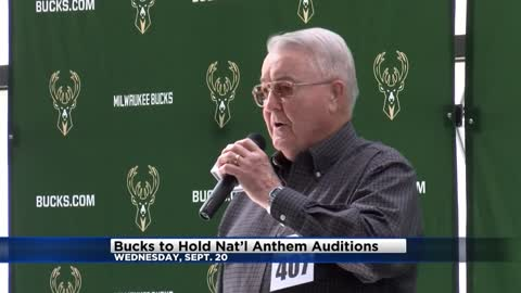 Bucks to hold auditions for National Anthem singers
