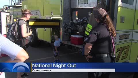 Oconomowoc Community Center hosts National Night Out with law...
