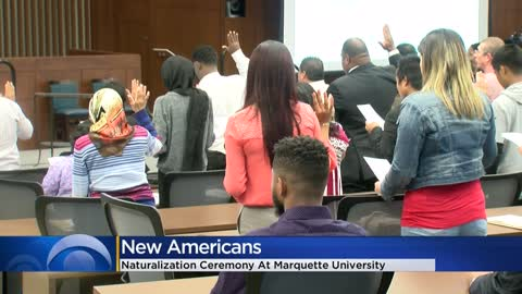 Marquette Law School hosts naturalization ceremony for 30 new U.S. citizens