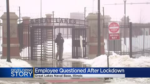 Employee makes unauthorized entry into Naval Station Great Lakes...