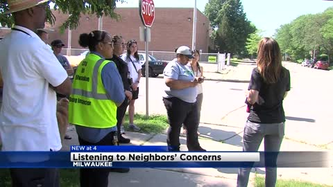 Local alderwoman listens to neighbors' concerns during walks through Milwaukee neighborhoods