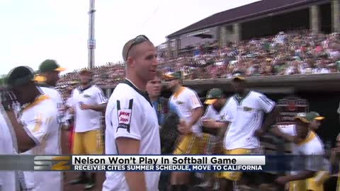 """It was an honor and fun:"" Jordy Nelson says he won't play in charity softball game this summer"