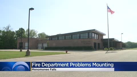 Menomonee Falls fire department problems mounting