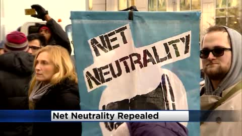 FCC votes to repeal net neutrality rules that guaranteed equal access to internet
