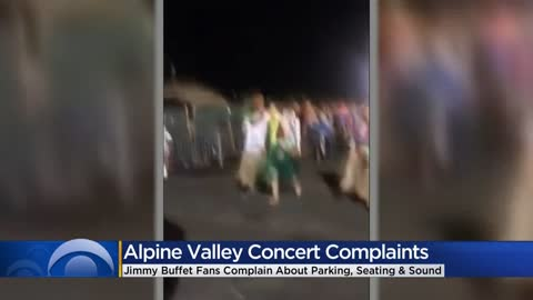 Jimmy Buffett fans rip setup of Alpine Valley concert