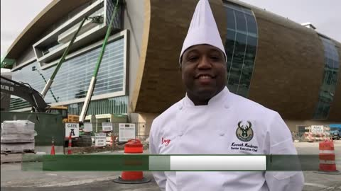 New chef hired for Bucks arena