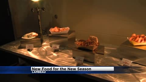 Lambeau Field set to unveil new food items for the football season