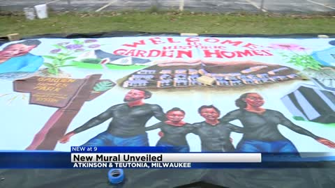 New mural unveiled near Atkinson and Teutonia
