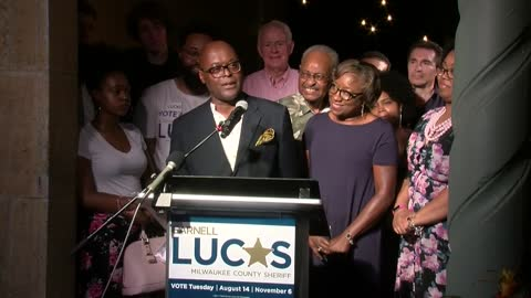 Earnell Lucas shares plans for Milwaukee County after winning Sheriff election