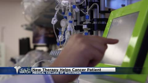 New therapy helps cancer patients at Medical College of Wisconsin