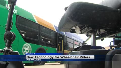 MCTS testing new technology for wheelchair and mobility device riders