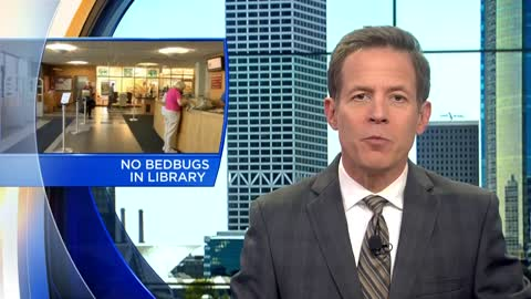 Update: No live bedbugs found in Racine Public Library