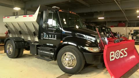 Local snow plow businesses hoping for more winter weather