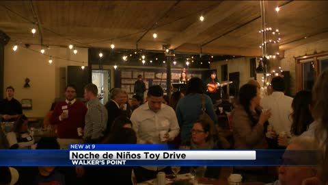 Noche de Niños holiday toy collection held in Walker's Point
