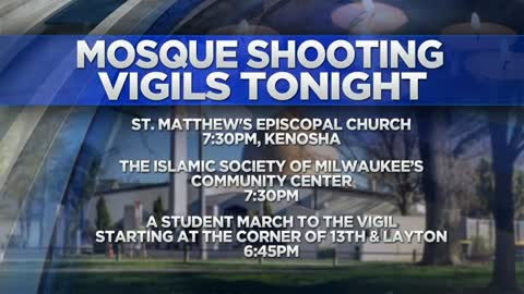 Vigils held tonight in Milwaukee and Kenosha to honor victims...