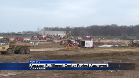 Update: Amazon Fulfillment Center Project approved in Oak Creek