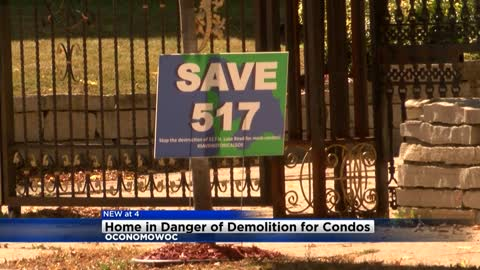 Oconomowoc group hopes to prevent historic home from being turned into condo development