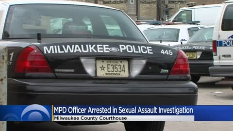 Milwaukee police officer arrested in connection to sexual assault investigation