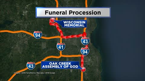 Funeral procession route released for Officer Michalski's funeral