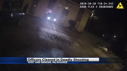 Milwaukee Police Officers cleared in deadly shooting near 101st and Bender
