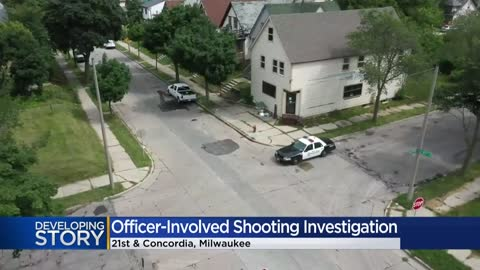 MPD: Officer shoots, wounds man near 21st and Concordia
