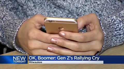 'OK, boomer:' Gen Z's new rallying cry