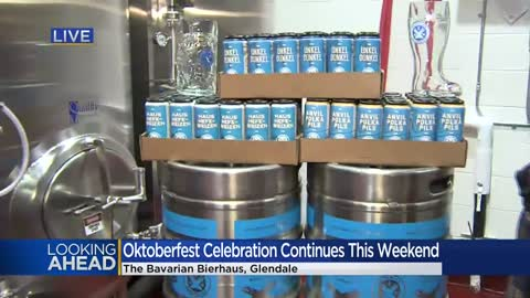 Glendale's Bavarian Bierhaus celebrates 60 years of Oktoberfest fun this weekend