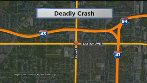 One Dead In Crash At 27th and Layton