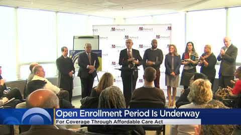 Now is the time to sign up for insurance through the Affordable Care Act