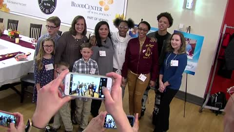 """I was nervous, speechless:"" Mother meets recipient families of son's organs"