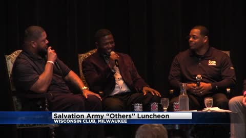 "Former Green bay Packers attend Salvation Army ""Others"" luncheon"
