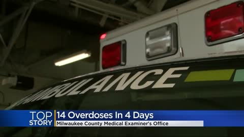 14 probable overdose deaths reported in Milwaukee County