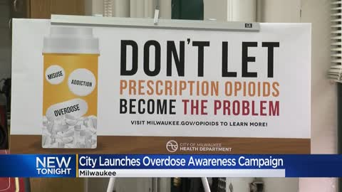City leaders host overdose awareness campaign event