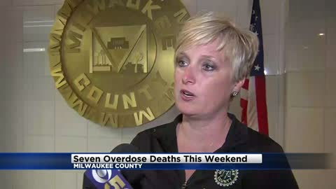 Medical Examiner's Office reports seven suspected overdose deaths from over the weekend