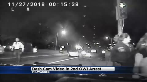 Dash cam video released of chase involving 18-year-old intoxicated driver