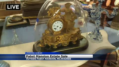 Thousands of items up for grabs at Pabst Mansion first-ever outdoor estate sale