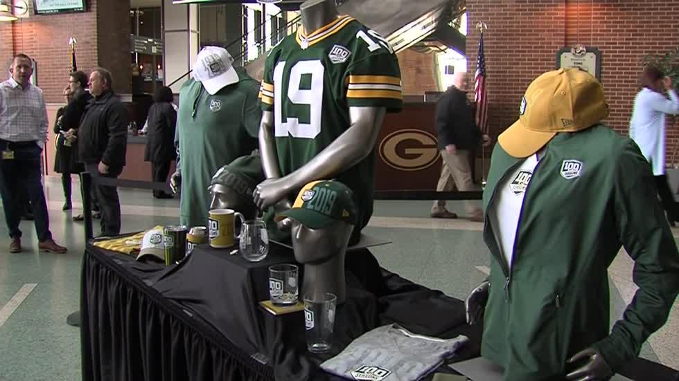 "buy popular ea158 be721 Green Bay Packers to begin ""100 Seasons"" celebration"