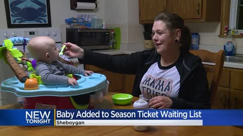 Family has no idea how 4-month-old ended up on Packers season...