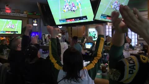 Packers fans are thrilled with Sunday's OT win